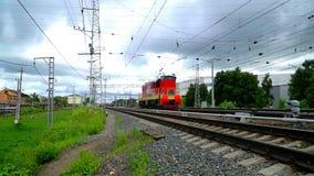 A locomotiva está na estrada de ferro filme