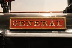A locomotiva geral Imagem de Stock Royalty Free