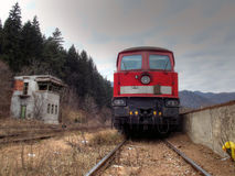 Locomotiva HDR Fotografia Stock Libera da Diritti