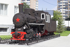 Locomotiva modelo Fotos de Stock Royalty Free
