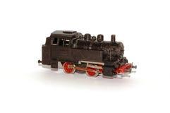 Locomotiva modelo isolada Fotografia de Stock Royalty Free