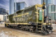 Locomotiva nacional canadense Fotografia de Stock Royalty Free
