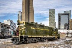Locomotiva nacional canadense Fotografia de Stock