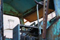Locomotiva oxidada velha Foto de Stock