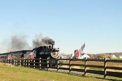 Locomotiva Pensilvânia de Strasburg imagem de stock