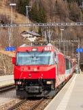 Locomotiva precisa del ghiacciaio Fotografia Stock