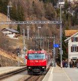 Locomotiva precisa del ghiacciaio Fotografia Stock Libera da Diritti