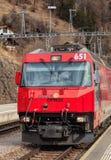Locomotiva precisa del ghiacciaio Immagine Stock Libera da Diritti