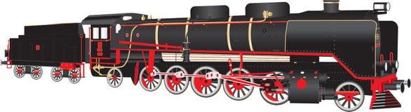 locomotiva railway do vapor 2102 Fotos de Stock
