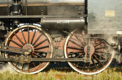 Locomotiva, rodas imagem de stock royalty free
