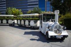 Locomotiva turística do estilo antigo da falsificação do trem Fotos de Stock Royalty Free