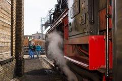 Locomotiva a vapore Fotografia Stock Libera da Diritti