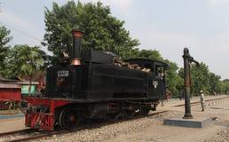 Locomotiva a vapore Immagini Stock Libere da Diritti