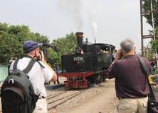 Locomotiva a vapore Fotografia Stock