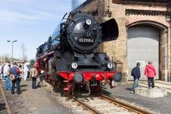 Locomotiva a vapore Borsig 03 2155-4 (classe 03 di DRG) Immagini Stock Libere da Diritti