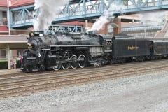 Locomotiva a vapore della strada 765 del piatto di nichel Fotografia Stock Libera da Diritti