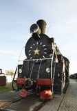 Locomotiva velha em Bresta Bielorrússia Foto de Stock