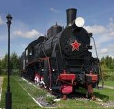 Locomotiva velha no museu Fotos de Stock Royalty Free
