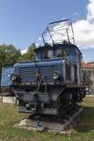 Locomotivas da estrada de ferro bávara de Zugspitze em Munich, 2015 Imagem de Stock Royalty Free
