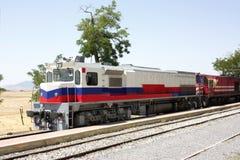 Locomotivas de diesel Fotos de Stock