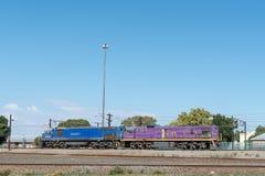 Locomotivas diesel-bondes Fotos de Stock
