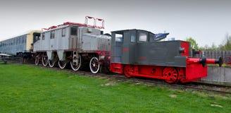 Locomotivas no museu técnico de Speyer Imagens de Stock Royalty Free