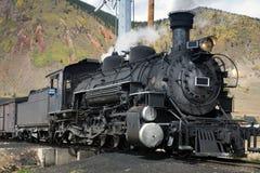 Locomotive à vapeur image stock