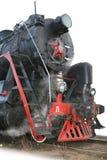 Locomotive à vapeur. Photographie stock