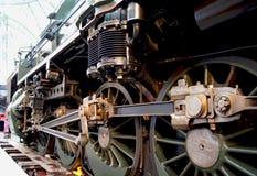 Locomotive à vapeur Photos stock