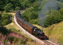 Locomotive à vapeur britannique de chemins de fer 47279 image libre de droits