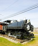 locomotive à vapeur, Groveton, New Hampshire, Etats-Unis photographie stock