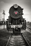 Locomotive à vapeur historique Images libres de droits