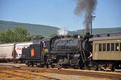 Locomotive à vapeur 3254 nationaux canadiens, Scranton, PA, Etats-Unis photographie stock