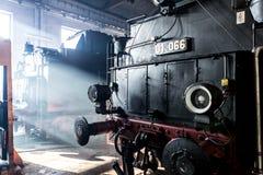 Locomotive à vapeur vieille Image libre de droits