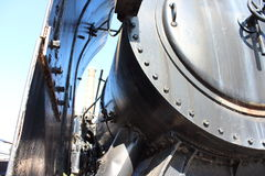 Locomotive à vapeur X 36 Photo stock