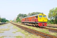 Locomotive électrique diesel Photographie stock libre de droits