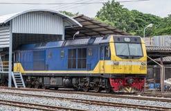 Locomotive électrique diesel puissante photo stock