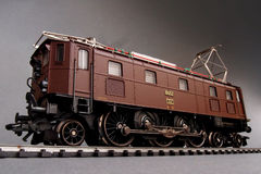 Locomotive électrique suisse Image stock