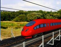 The locomotive Stock Photography