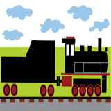 locomotive Illustration Libre de Droits