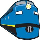 Locomotive. Stylized 1940s-50s era diesel locomotive Royalty Free Stock Image
