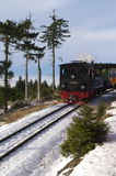 Locomotive. Travel in Wernigerode to Broken Royalty Free Stock Photo
