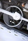 Locomotive Drive Line Wheel Vintage Train Engine Royalty Free Stock Photo