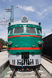 Locomotive. View on front of locomotive Royalty Free Stock Photography