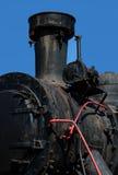 Старый пар locomotive-1 Стоковые Изображения
