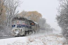 Locomotive Amtrak Stock Photo