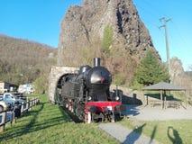 Locomotive in Tuscany royalty free stock photo