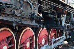 Locomotive bogies Royalty Free Stock Photo