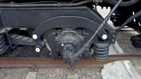 Locomotive brake Royalty Free Stock Image