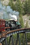 Locomotive Bridge Royalty Free Stock Photography